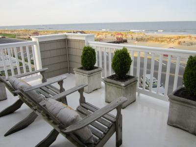 Bradley Beach, NJ: Ocean Front Duplex Condo Winter Rental Oct - April