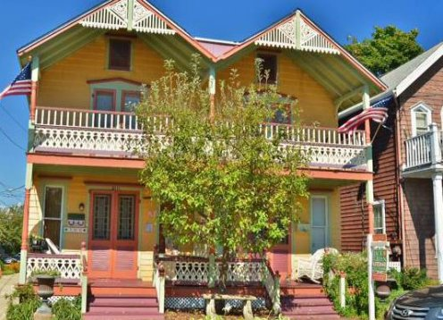 Ocean Grove Classic 3 BR Beach House Beauty with Porch & Balcony