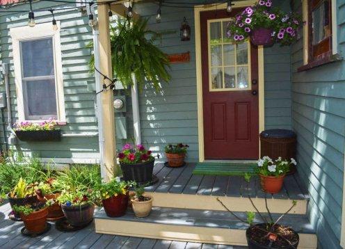Ocean Grove -  Rear Cottage Summer Rental in 2 Family. Beach Badges.
