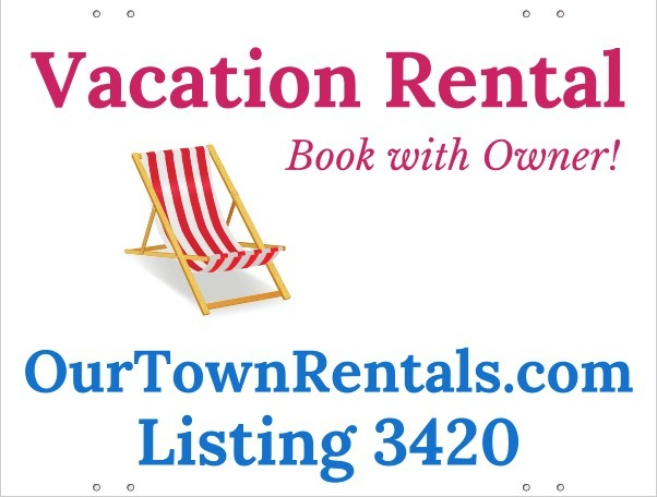 Free Vacation Rental Sign - Help Advertise Your Rental